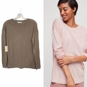 🆕 Aritzia Sz XXS Brown Camel Patrick Sweater